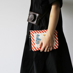 BICYCLE STRIPE Purse